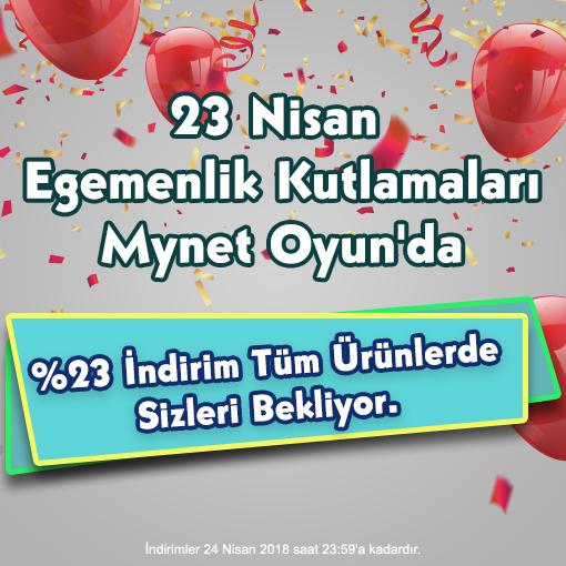 23 nisan 2018 Oyna